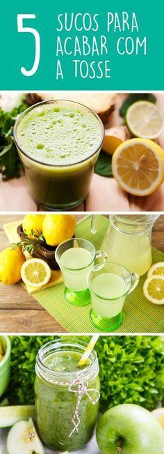 Os sucos são grandes fontes de vitaminas e minerais que ajudam a fortalecer o sistema imunológico e reduzir a inflamação no organismo, podendo serem usados para aliviar a tosse e a irritação na garganta. #suco #tosse