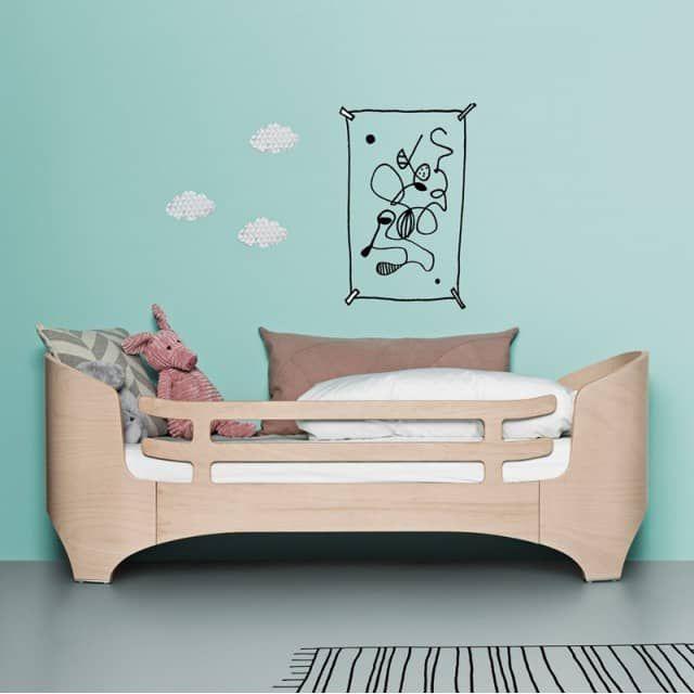 Leander Reling Rausfallschutz für Kinderbett Juniorbett 70x150 cm - Engel & Bengel