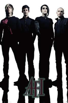 AFI- Band Pic poster