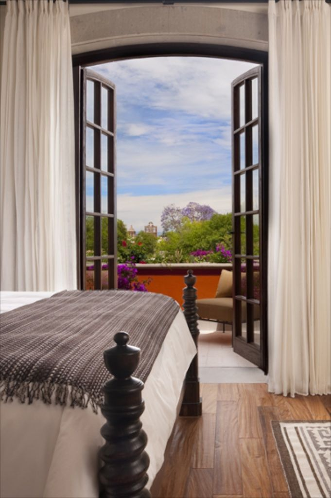 Robb Report's Top 100 Hotels 2015: Rosewood San Miguel de Allende. Though newly constructed in 2011, the Rosewood San Miguel de Allende blends right in with the historic Spanish structures of Mexico's most iconic colonial town. | www.rosewoodhotels.com