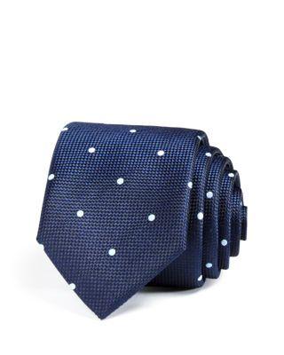HUGO BOSS Spaced Dots Skinny Tie | Bloomingdale's