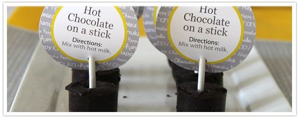 Hot Chocolate on a Stick Recipe