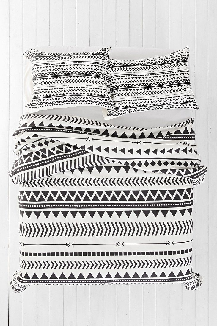 Allyson Johnson for DENY Geo Duvet Cover - Urban Outfitters