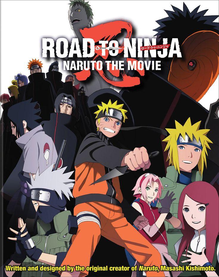 Naruto: Shippuden Movie 6 DVD/Blu-ray: Road to Ninja (Hyb) #RightStuf2014