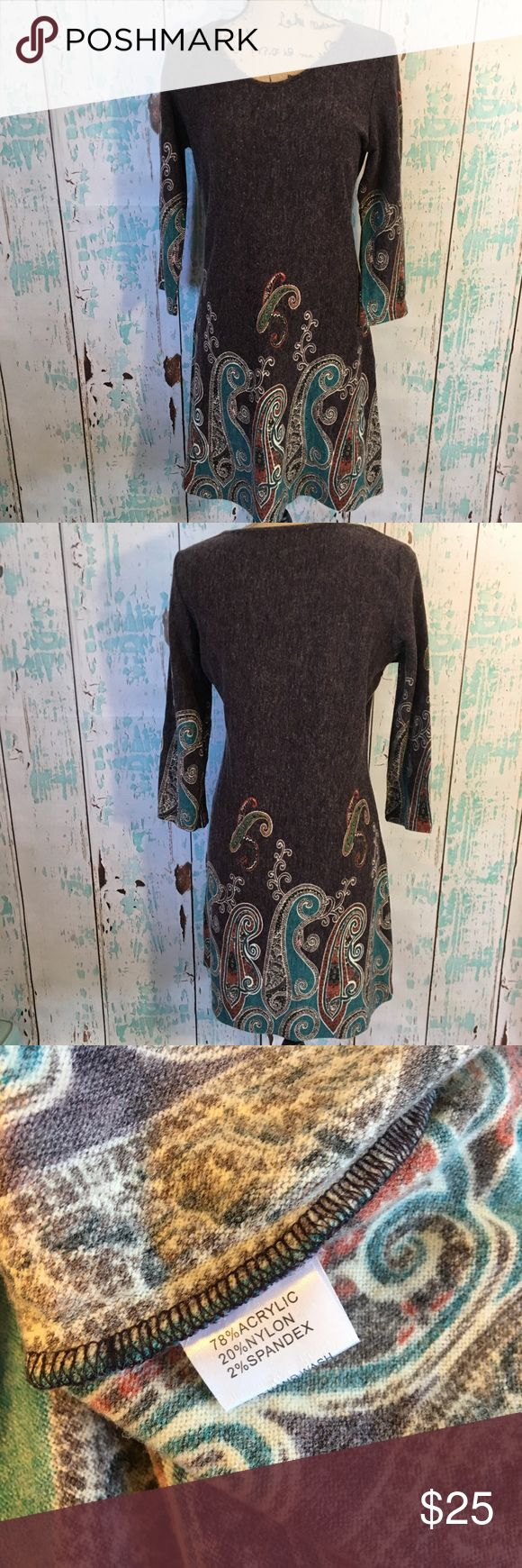 "Boutique paisley dress size medium Boutique paisley dress size medium  🌵Bundle deals available. I carry various sizes/brands. 🌵No trades, holds, or modeling. 🌵All reasonable offers accepted only through ""offer"" button. No lowball offers please. Please submit final offer willing to pay as I prefer to not counteroffer. 🌵Happy Poshing! Anuna's Dresses"