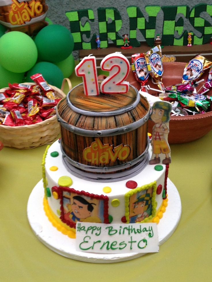 Pinterest Discover And Save Creative Ideas: El Chavo Birthday Cake