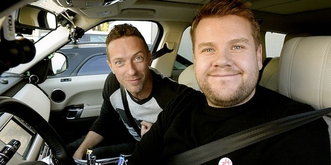 """Coldplay's Chris Martin Covers David Bowie's """"Heroes"""" on """"Carpool Karaoke"""" With James Corden"""