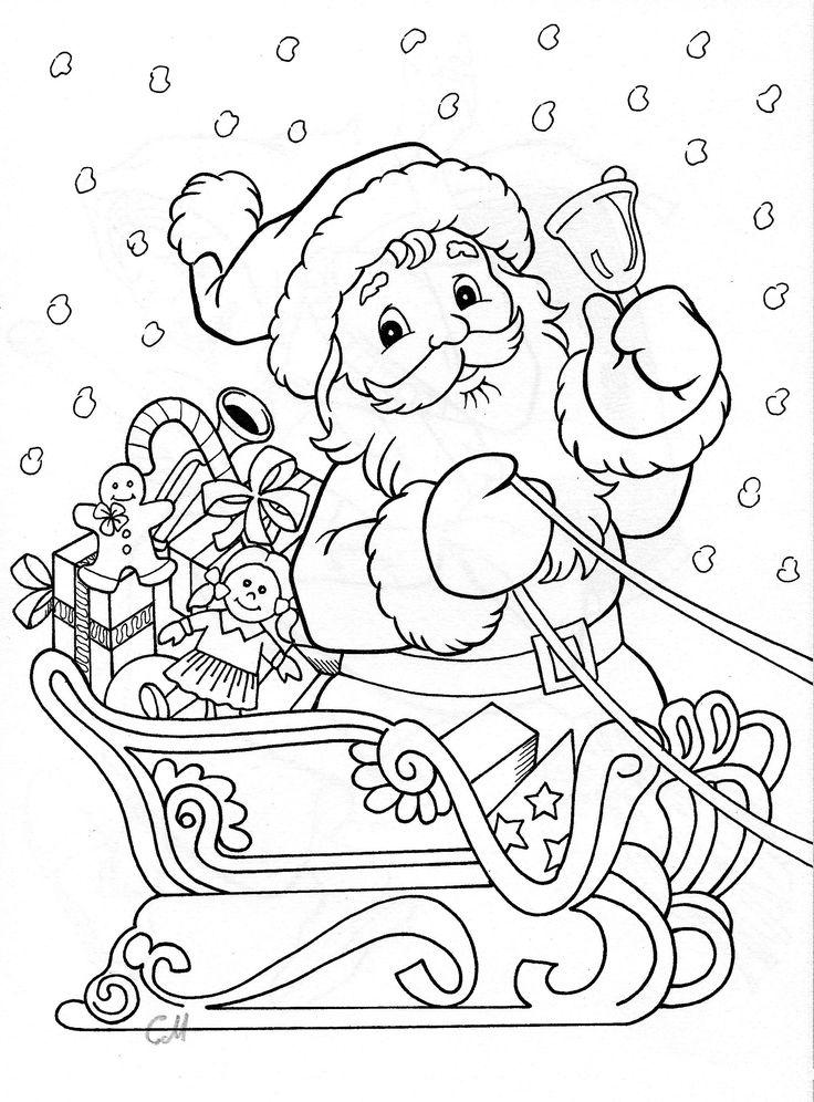 santa coloring                                                                                                                                                                                 More