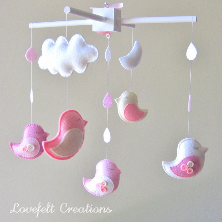 Baby crib mobile - Can make my own version of this!