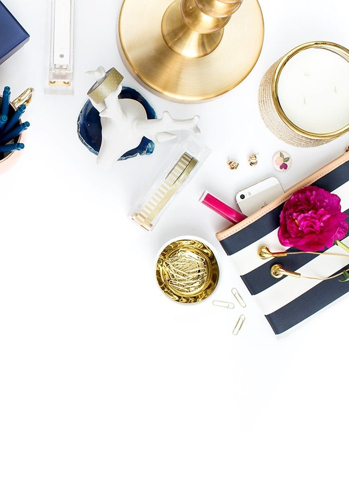 Styled Stock Photography for Bloggers and Creative Small Businesses | Navy and Peach | Shay Cochrane | SC Stockshop