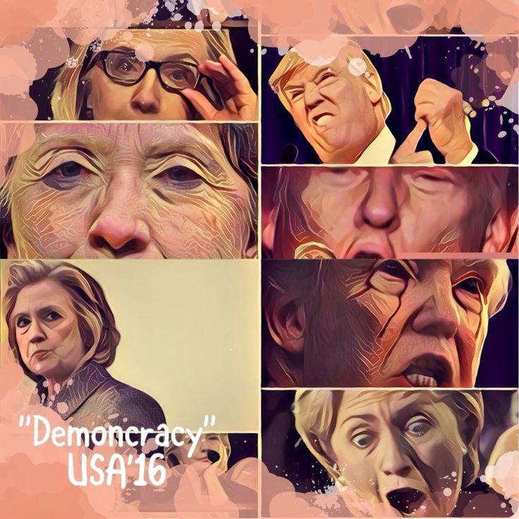 """Les comparto este artículo de opinión sobre la contienda política entre #HillaryClinton y #DonaldTrump titulado """"Demoncracia; TVShow de un enemigo declarado"""". Léanlo, espero les agrade, ayúdenme a compartirlo.  #Política #opinión #Clinton #Trump #Elecciones2016 #EEUU #EstadosUnidos #MedioOriente #OrienteMedio #Africa #Libia #Gadhafi #USA #CNNiReport  https://www.facebook.com/dreamwishmaker1/posts/1282400871784103:0"""