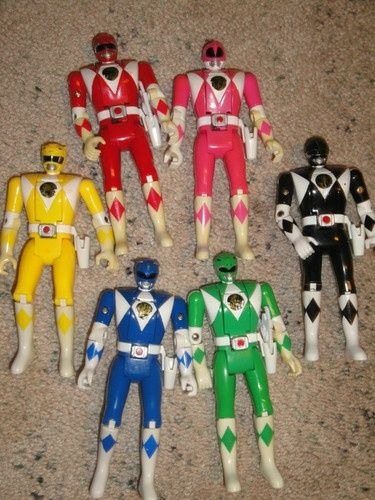 Haha my brother had these and when I was little a broke the leg off his fave (green ranger) and he glued a popsicle stick to it XD