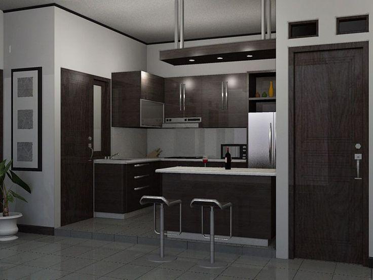 Kitchen Set Mini Bar Mewah in 2020   Mini bar, Kitchen ...