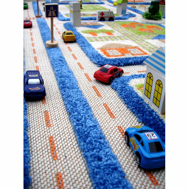 TRAFFIC 3D CARPETS | Play Rug, Toy, Creative, Imaginative, Imagination, Road, Car | UncommonGoods