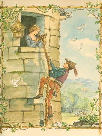Rapunzel illustrated by Tasha Tudor