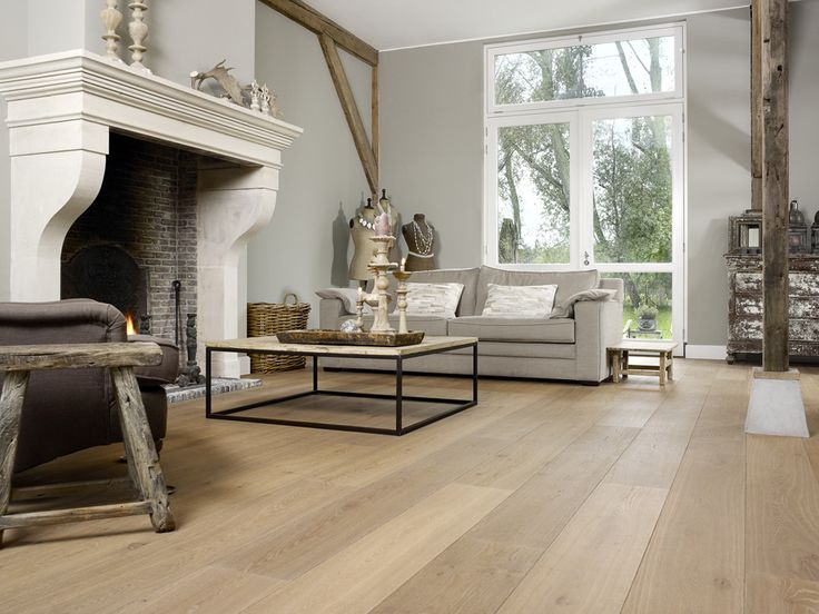 interior living room oak flooring