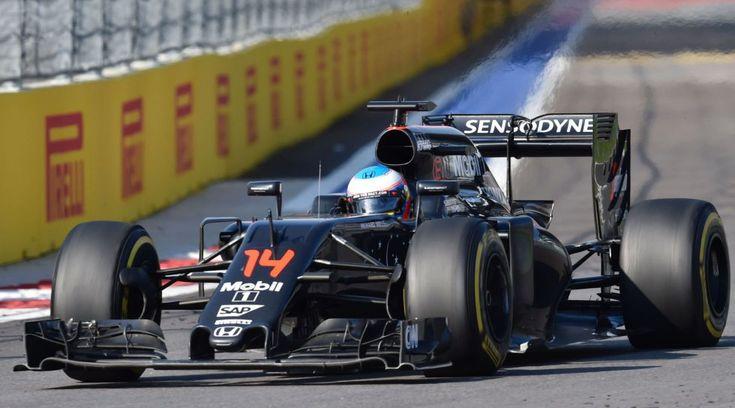 Fernando Alonso Rusia 2016