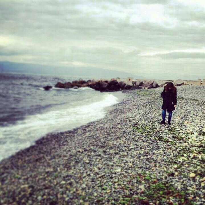 #tirilye #zeytinbagi #mudanya #seaside #winter #stones