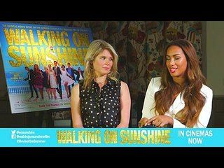 Walking on Sunshine: Hannah Arterton & Leona Lewis Junket Interview --  -- http://www.movieweb.com/movie/walking-on-sunshine/hannah-arterton-leona-lewis-junket-interview