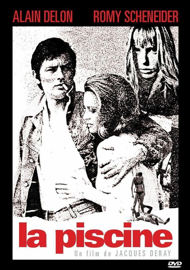 La piscine (1969) Cinematography by Jean-Jacques Tarbès - Costume Design by André Courrèges - Directed by Jacques Deray - Music by Michel Legrand - Production Design by Paul Laffargue (757×1073)