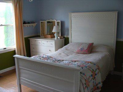 Making A Vintage Bed Fit A Modern Mattress - An Oregon Cottage