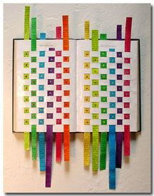 Wouldn't this make some fun artic activities?  Woven sheet of paper with letters that you pull through... like a puzzle game...