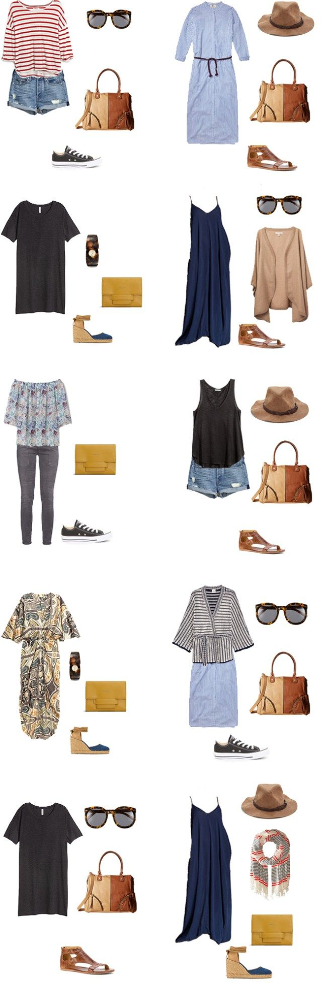 What to Wear on a Caribbean Cruise Outfit Options 1-10 #travellight #travel #packinglight #traveltips