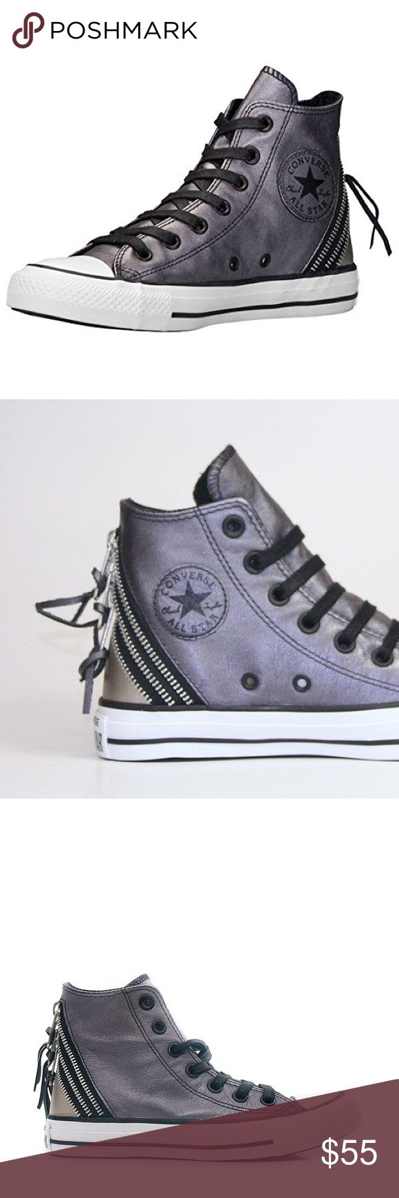 Converse women's shoes tie zip hi size 6 new Brand new Converse Shoes Sneakers