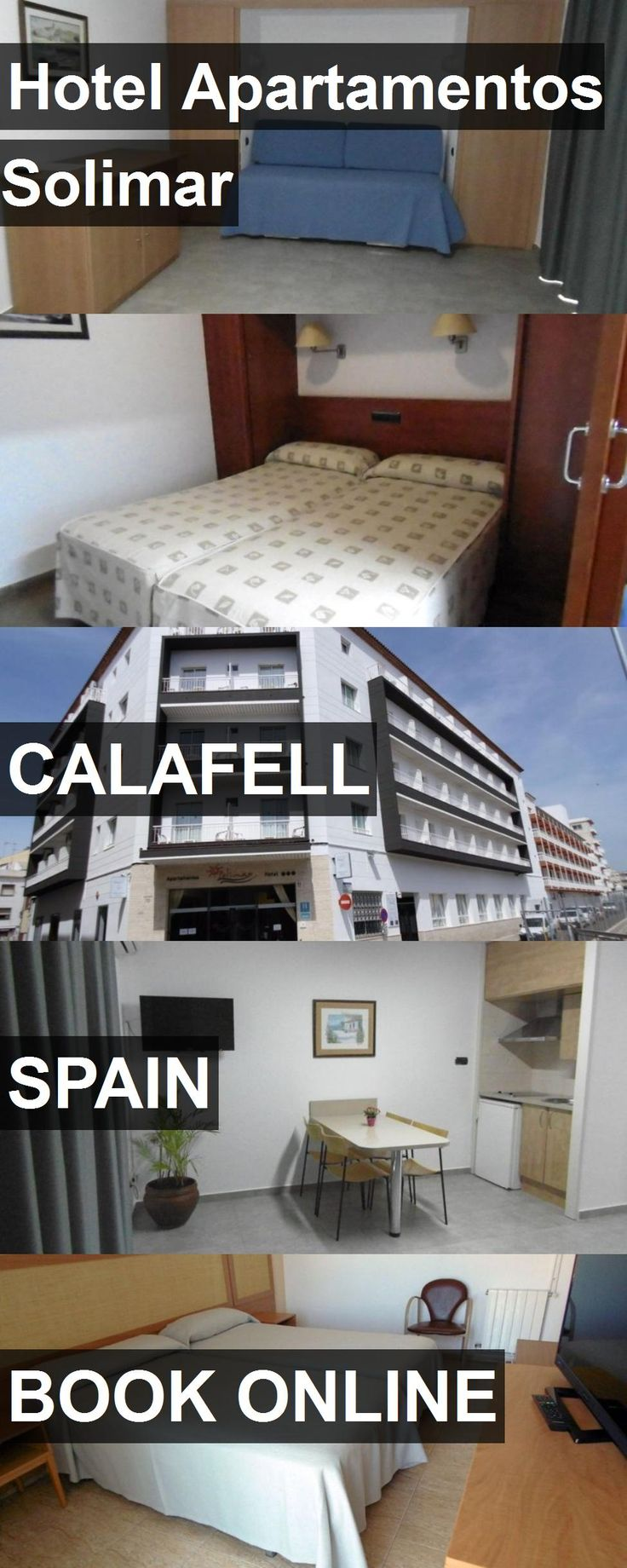 Hotel Hotel Apartamentos Solimar in Calafell, Spain. For more information, photos, reviews and best prices please follow the link. #Spain #Calafell #HotelApartamentosSolimar #hotel #travel #vacation