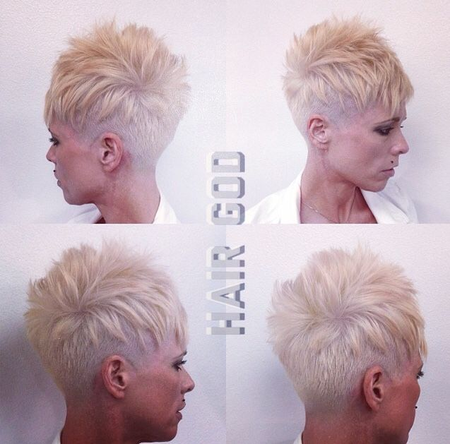 My next haircut under cut pixie