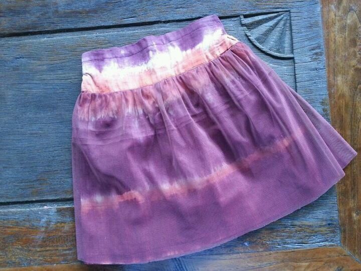 tie dye collection for your little girl - purple