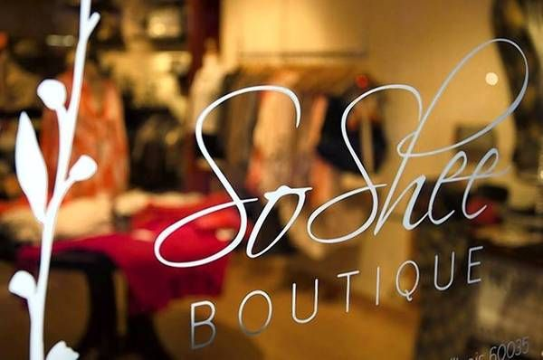 boutique store fronts | SoShee Boutique is located at 599 Roger Williams Ave., Highland Park ...