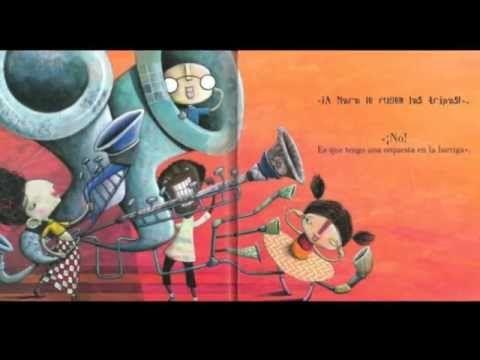 """Videocuento de """"Orejas de mariposa"""" un libro de Luisa Aguilar publicado en Kalandraka"""