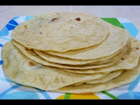 From scratch flour tortillas:  2 lbs AP flour (+ more for rolling) 2 cups shortening  1 TBS salt (or to taste) 2 tsp baking powder