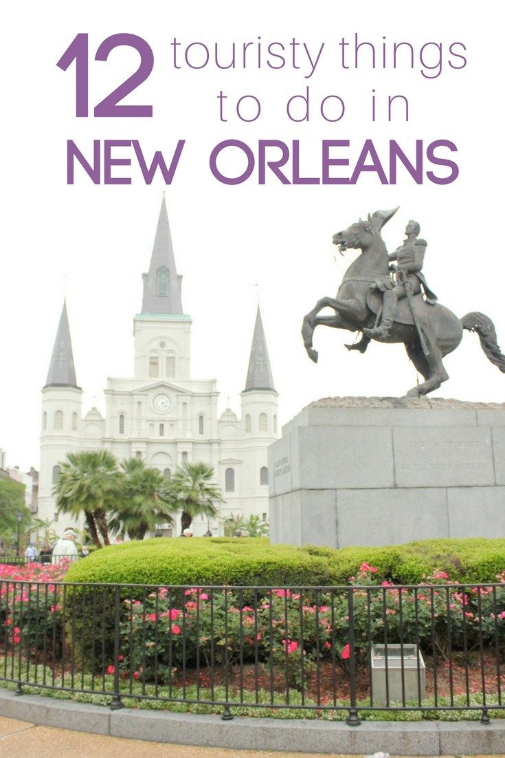 New Orleans, Louisiana is bursting with charm, awesome music, and delicious food. There is something for everyone in this city! Here's the top 12 touristy things you need to do on your visit to New Orleans!