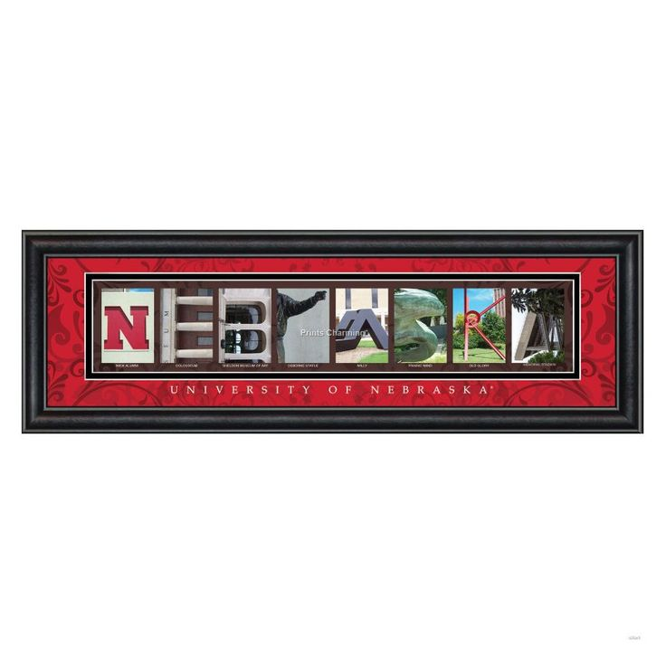 college letter framed wall art university of nebraska x in everyone knows you bleed husker red but the college letter framed wall art university