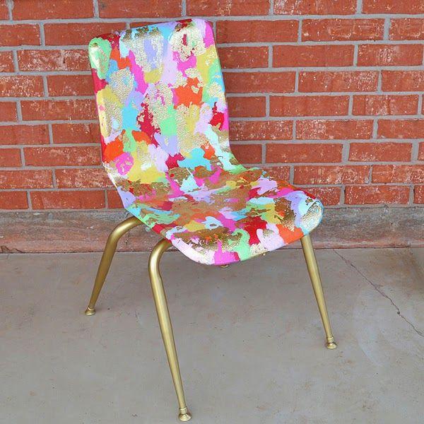1000 id es sur le th me peindre des chaises en plastique sur pinterest peinture de plastique for Peindre chaise plastique