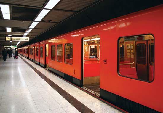 Subway in Helsinki, Finland