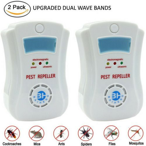 Repellent Insect Mosquito Electronic Plug Indoor Pest ControlCockroachAntsSpider