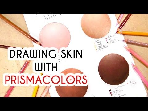How to Color Skin Tones | 10 Video Tutorials on Skin Coloring Techniques with Colored Pencils or Markers | Part Two: Pencil Techniques (Three-part Series)