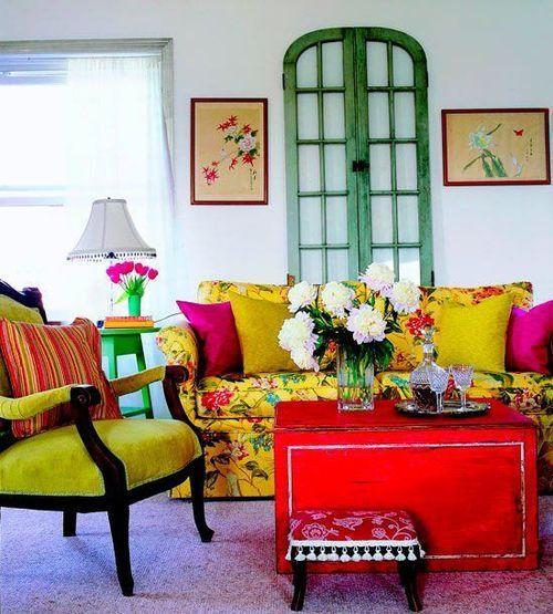 Southern Charm Living Room