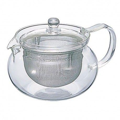 Glas Teekanne mit Teesieb  #estexo #onlineshop #wohnen #teekanne #sieb #teekannemitsieb #küche #tee