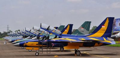 Mengintip Kecanggihan Pesawat Tempur Latih T 50i Golden Eagle Milik TNI AU Indonesia
