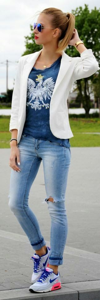 Street Style Gorgeous Outfit!