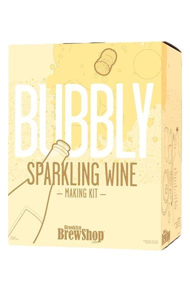 Free shipping and returns on Brooklyn Brew Shop Bubbly Sparkling Wine Making Kit at Nordstrom.com. Brooklyn brewers Erica Shea and Stephen Valand bring wine making to your kitchen with this kit perfect for space-strapped wine enthusiasts. With the idea that making wine can be simple, tasty and fun, the duo created an easy-to-use kit designed with everything you need (besides the champagne bottles!) to make your first five bottles of sparkling wine, including specially sourced chardonnay…