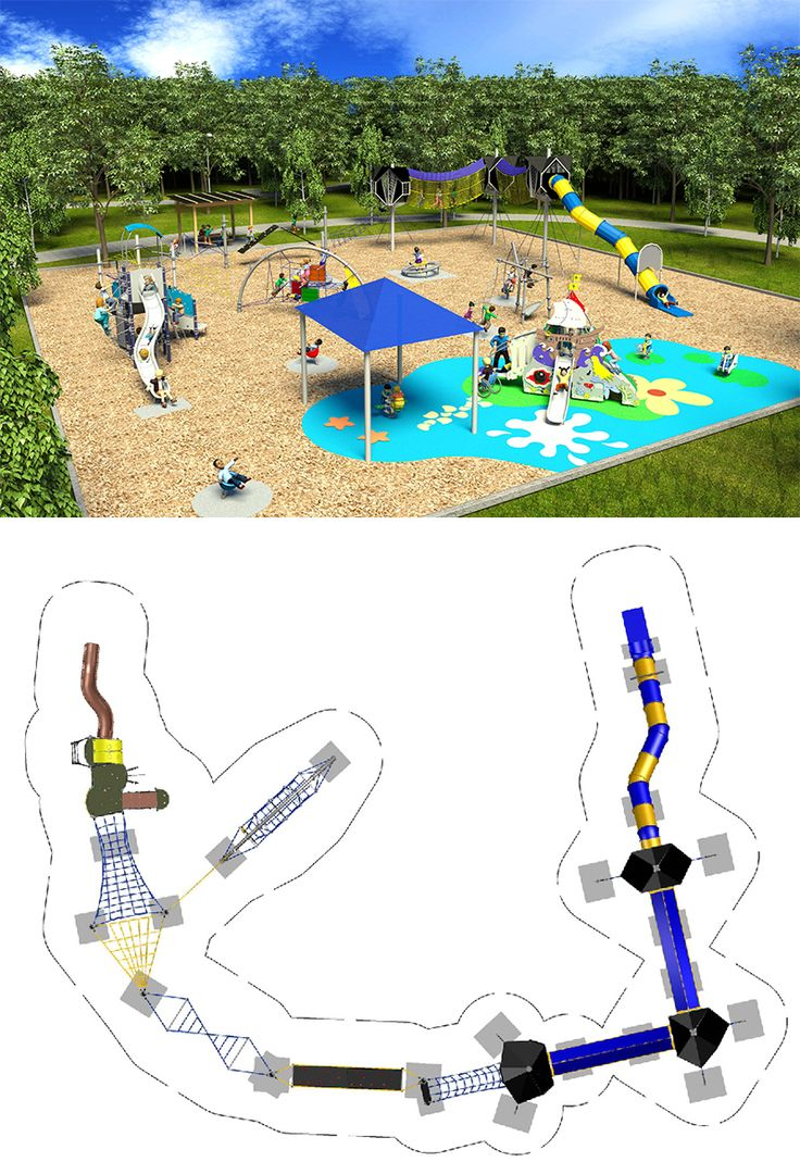 Design of the Week Our Design & Draw Department put together this exciting Corocord Combination design which not only gives children the thrill of elevated elements leading to a tunnel slide but links to an inclusive EDGE structure. Adding a Hans Christian Andersen SMART Playground structure and other single events - this playground provides something relevant for every child and will keep them coming back to play. www.kompan.com www.corocord.com www.smart-playground.us