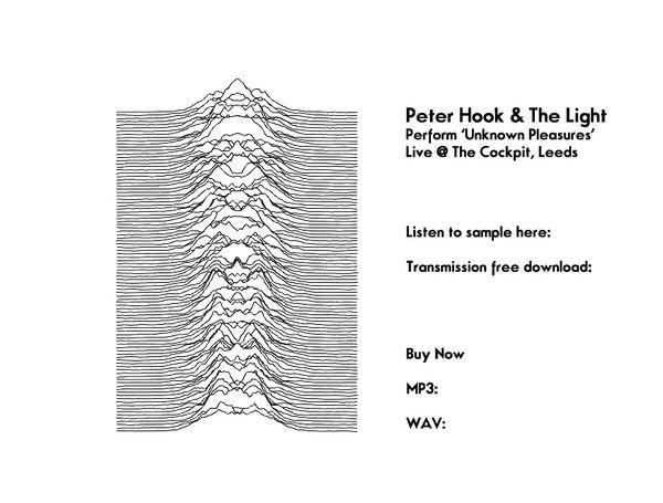 Peter Hook & The Light perform 'Transmission' live @ The Cockpit, Leeds in November 2012.