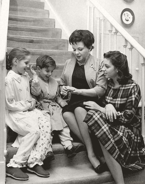 """When you'd sit and talk with her, you felt that nobody else existed. Nobody was funnier. Nobody was wiser. No one could ever love you more, and you never could ever love anybody more."" ~ Liza Minnelli on her mom, Judy Garland"