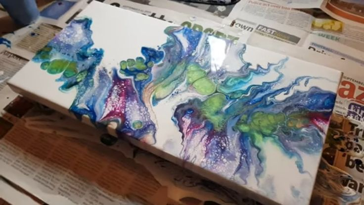 Dutch paint l Acrylic paint l Abstract painting
