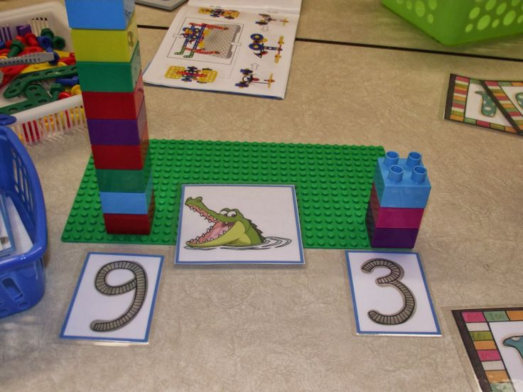 La maternelle de Francesca: Nos petits ateliers #4 plus grand plus petit